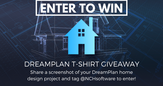 home design contest. DreamPlan Home Design Contest  Win a FREE Limited Edition T Shirt Do More With Software