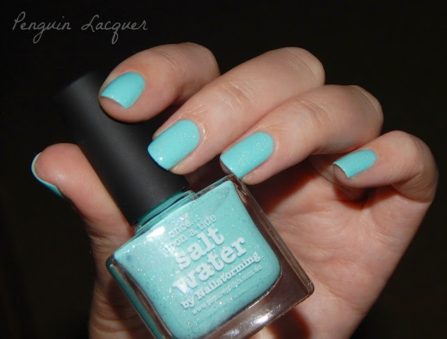 picture polish salt water with flash