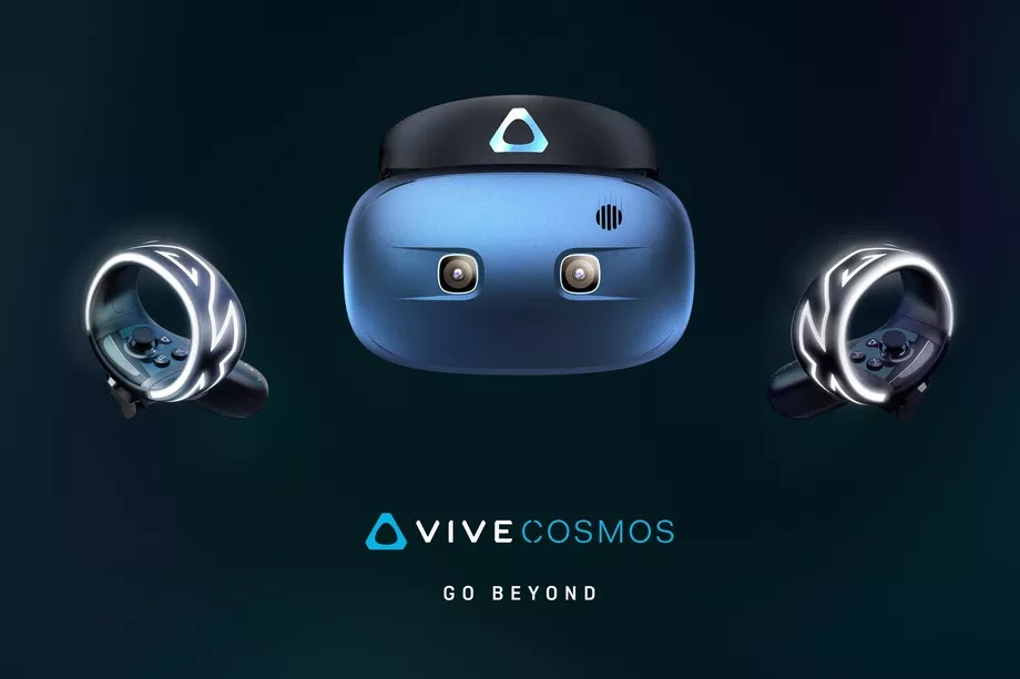 HTC Vive Cosmos and HTC Vive Pro Eye Virtual Reality Headsets