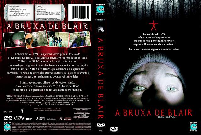 Capa DVD A Bruxa de Blair