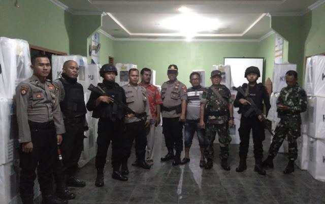 Polres Tulang Bawang Gelar Patroli Gabungan Dengan TNI Amankan Pemilu 17 April 2019