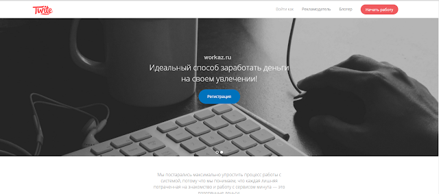 Заработок в социальных сетях - Twite.ru
