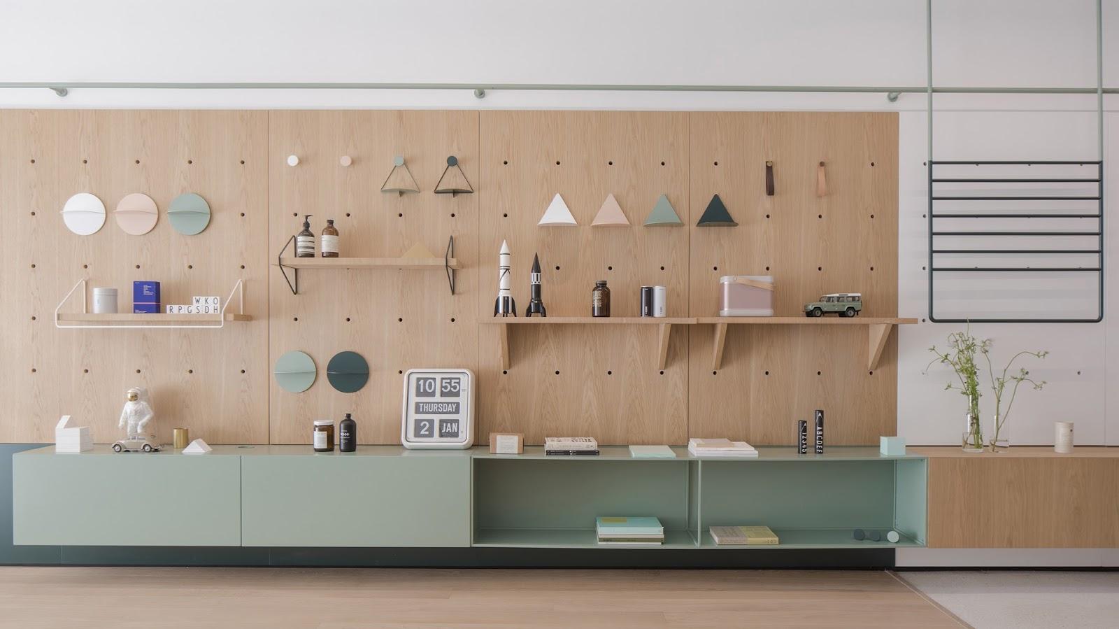 Casa con arredi modulari componibili e giocosi | ARC ART blog by ...