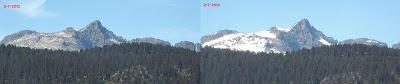comparativa nieve Montardo temporada 2012-2013