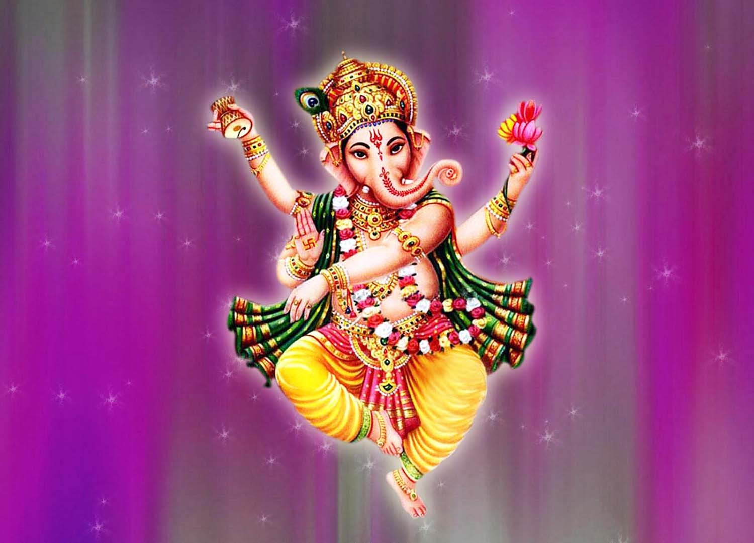 Gorgeous wallpaper God Ganesh!