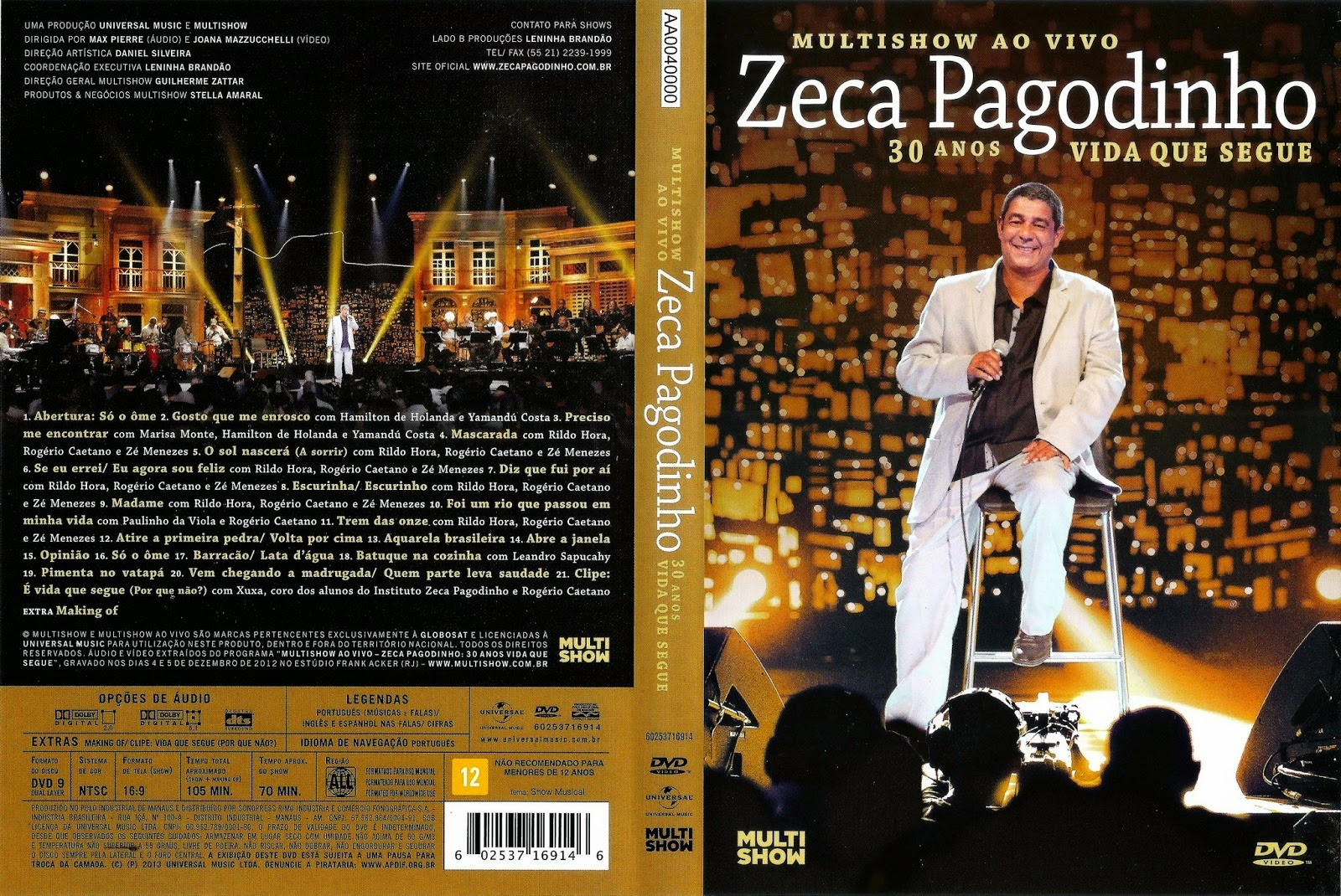 AMIGOS DVD COM VIVO OS AO ZECA BAIXAR PAGODINHO