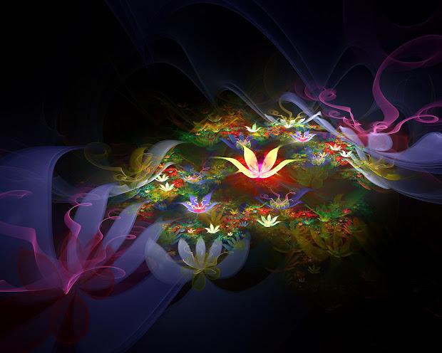 Beautiful Wallpaper 3d Flower High Resolution