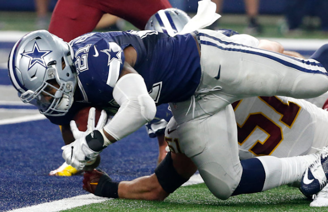 Dallas Cowboys Top Washington Redskins for Their 10th Straight Win