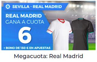 Paston Megacuota Liga Santander: Sevilla vs Real Madrid 9 mayo