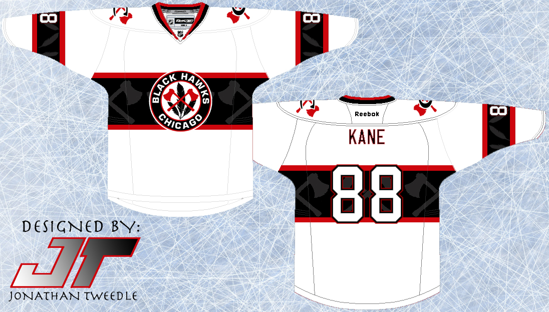 newest 5743e 6e052 Tweedle's Jersey Blog: Rebrand Series: Chicago Blackhawks