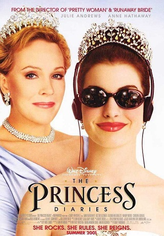 The Princess Diaries 2001 Dual Audio Hindi 999MB 720p BluRay Download