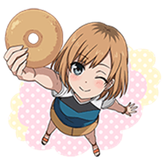 SHIROBAKO Voice Stickers