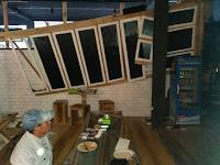 Tabung Gas Meleda di Hardi's Cafe Gegerkan Warga