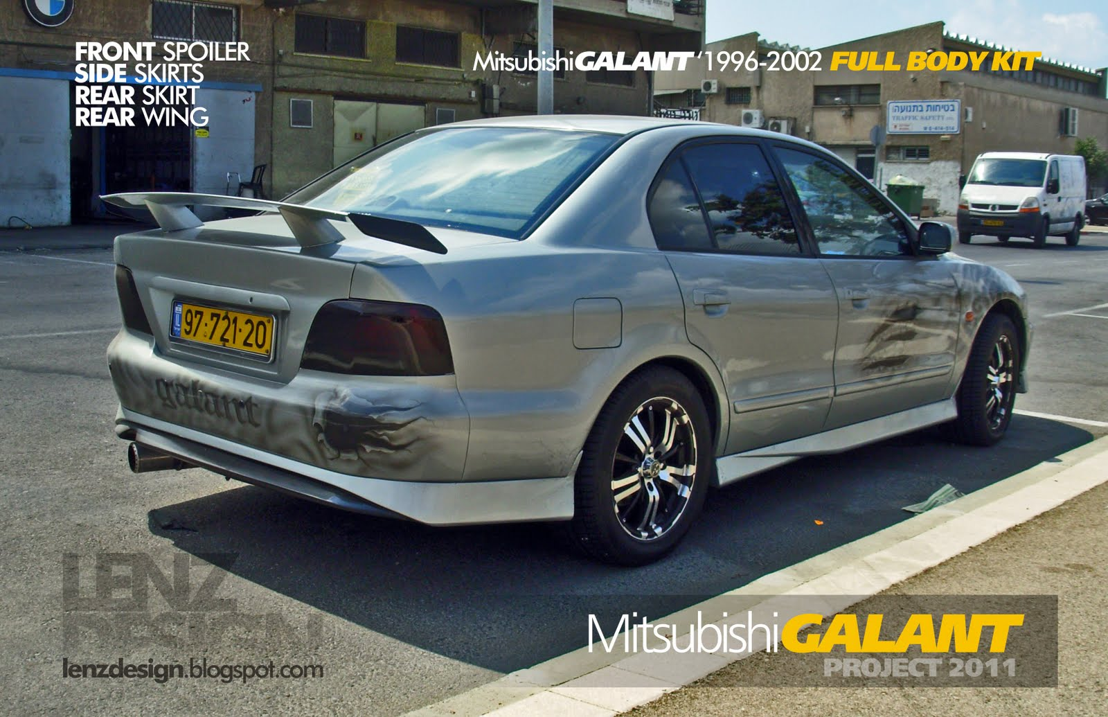 mitsubishi galant 8 tuning body kit lenzdesign performance mitsubishi galant 8 tuning body kit
