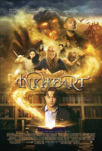 Inkheart 2008 BRRip 480p Hindi 300MB