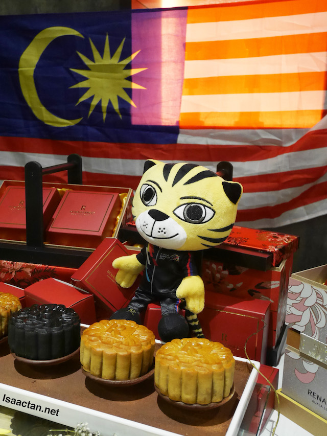 Hey, there's even Rimau there!