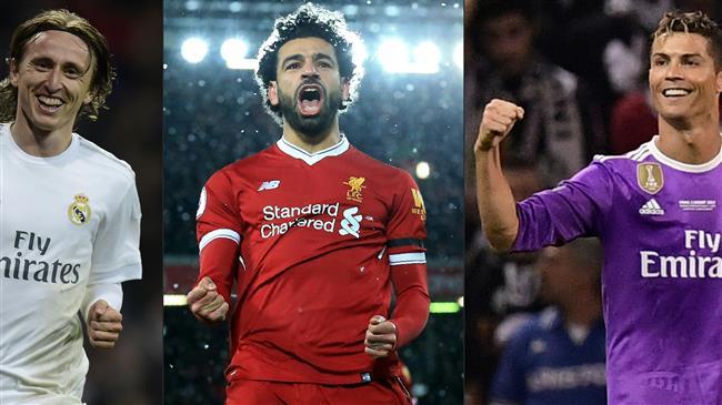 Salah, Ronaldo et Modric sont les finalistes en lice pour les The Best FIFA Football Awards