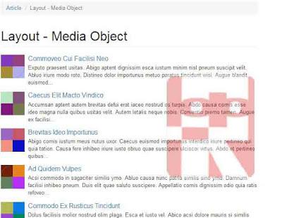 page media object sudah dibuat