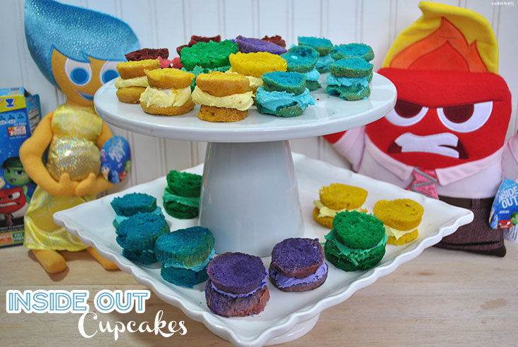 Let's Talk About Emotions with Inside Out Cupcakes