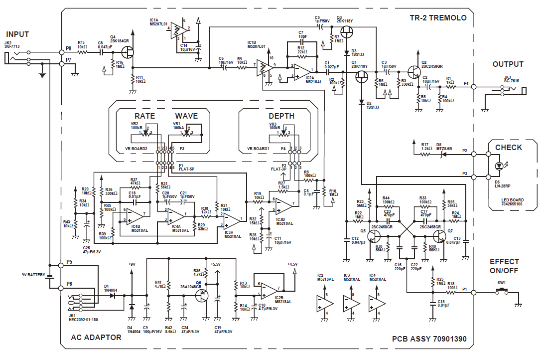 Operational Amplifier Used As Srs Effector Circuit Amplifiercircuit