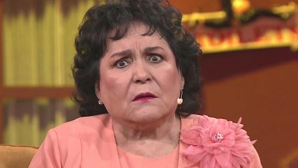 Me gustaría ser presidente de México, millones de seguidores me lo  han pedido: Carmen Salinas