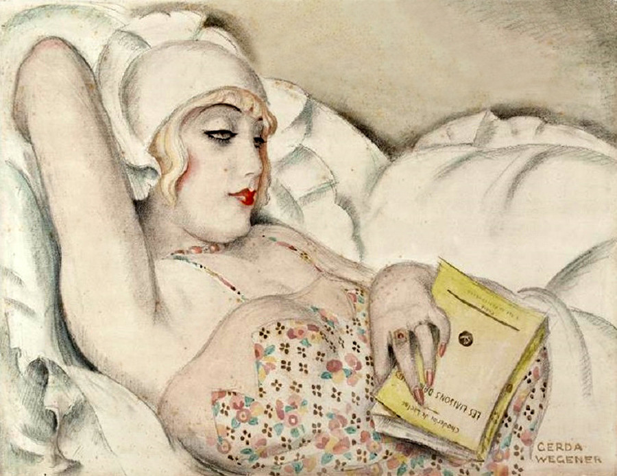Gerda Wegener Paintings Art