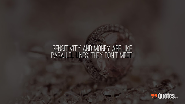 sincere quote about money