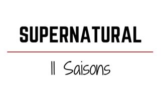SUPERNATURAL SAISON 11 AVIS