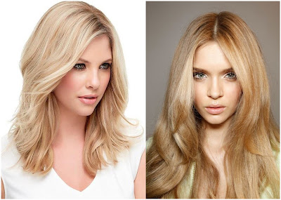 Hair Color Light Golden Blonde - List of Blond and Brown Hair Color for All Skin Types