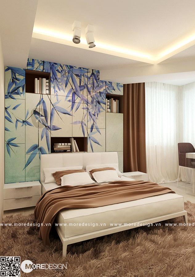 Nội thất phòng ngủ master tuyệt đẹp