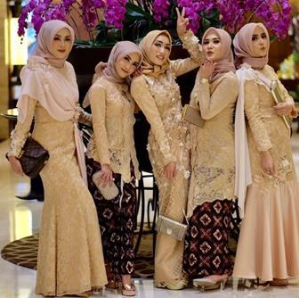Model Kebaya Muslim Terbaru Untuk Pesta Pernikahan