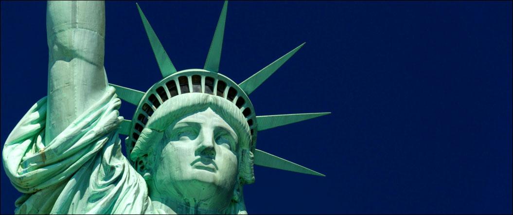 estatuas em nova york