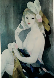 One of the young girls by Marie Laurencin