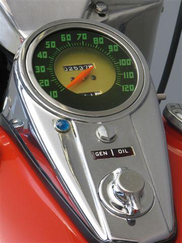 Harley Davidson FLH Duo Glide 1200cc 1961