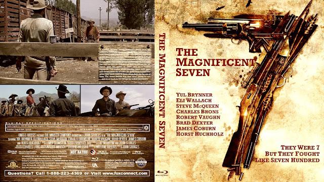 The Magnificent Seven Bluray Cover