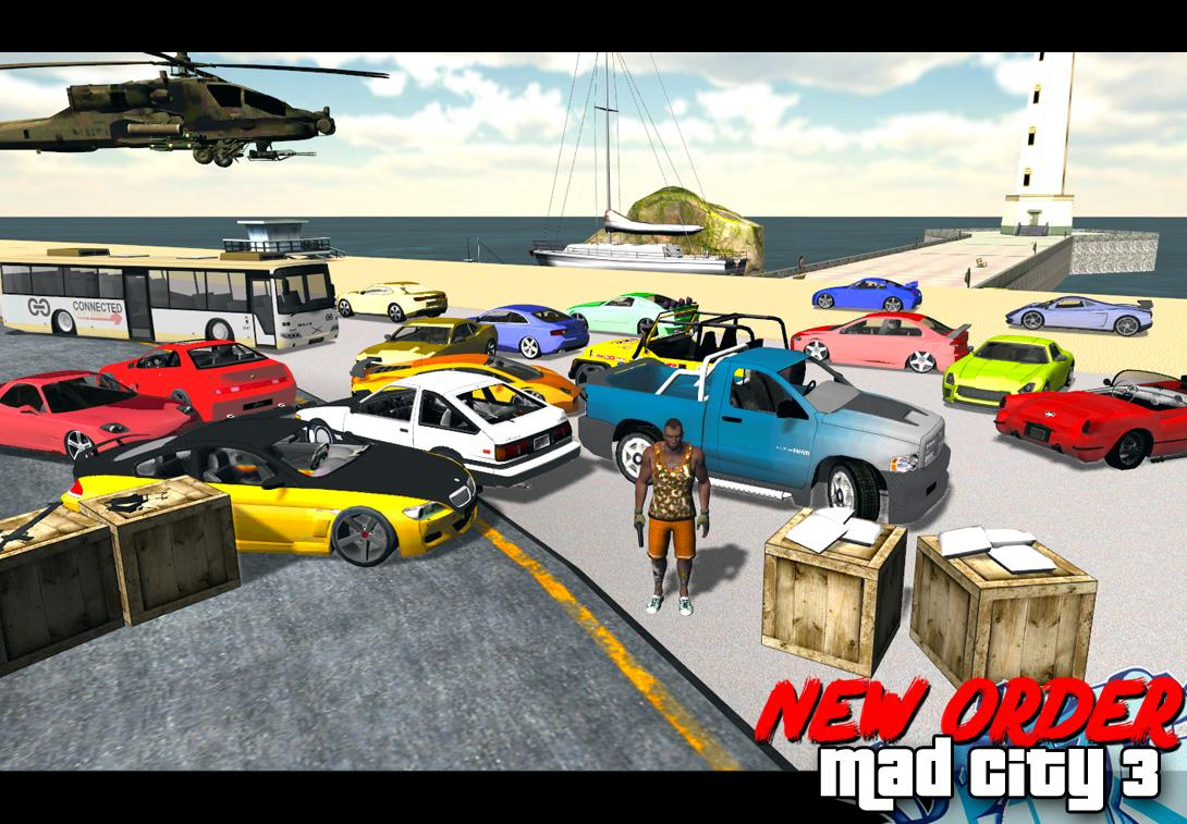 Mad City Crime 3 New Order | 35 MB