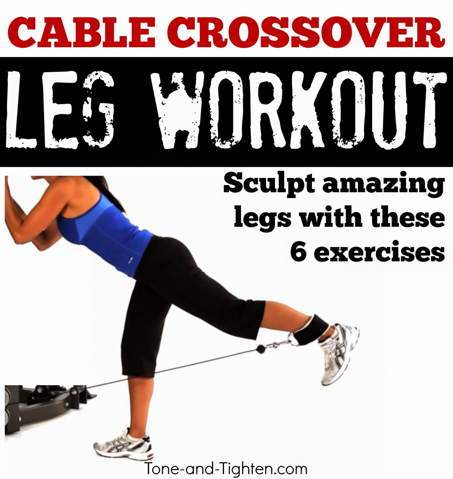 Best lower body exercises on cable machine - Leg workout on crossover    Leg Exercises On Machines