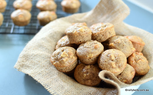 NellyBelly: Apple Cinnamon Gluten Free, Fat Free Muffins