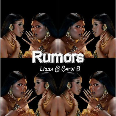 Lizzo x Cardi B's Song: RUMORS - Chorus: Give 'em somethin' to talk about. Sick of rumors.. Streaming - MP3 Download