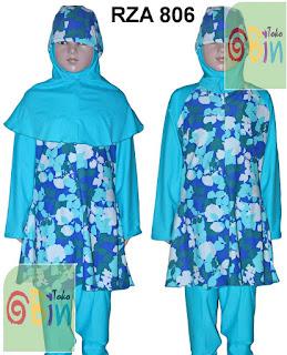 baju renang muslim syari  anak RZA 806