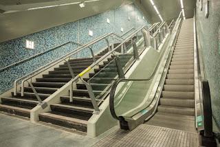 Avanza la modernización de escaleras mecánicas del Subte