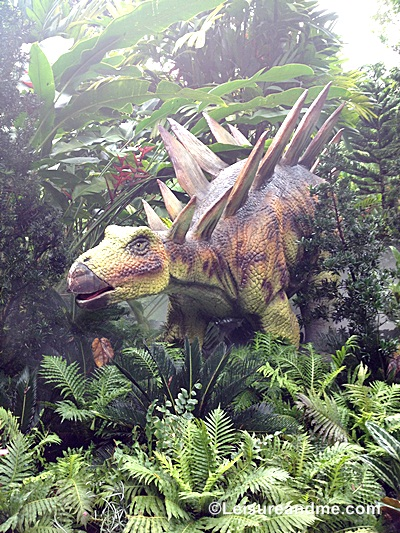 Dinosaurs at the Zoorassic Park Singapore