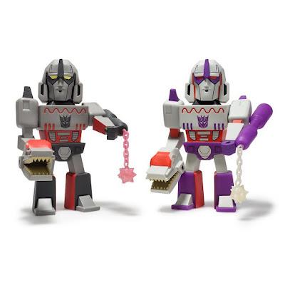 Transformers vs G.I. Joe Megatron Medium Art Figures by Tom Scioli x Kidrobot