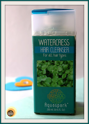 The Nature's Co Watercress Hair Cleanser review