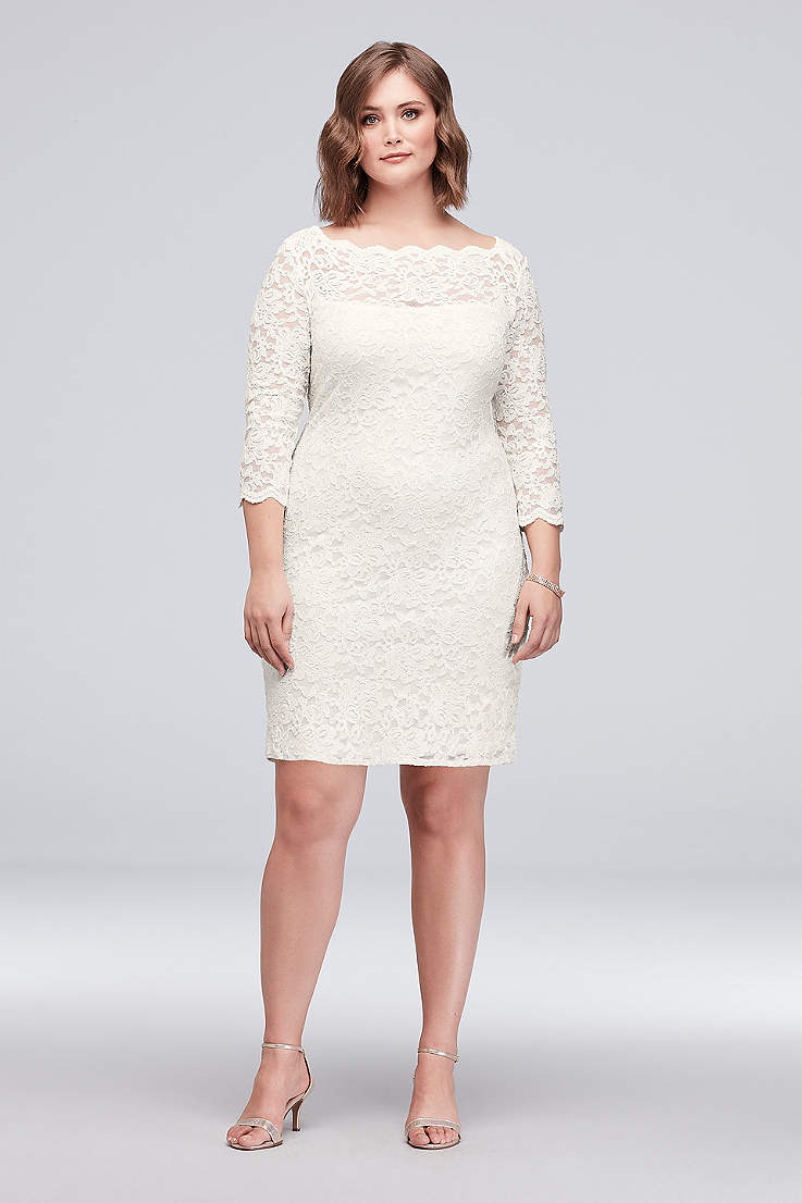 Two Gorgeous Cheap Plus Size Bridal Shower Dresses Under $100 ...