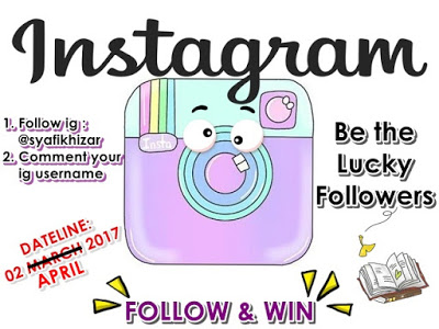 Follow Instagram & Win by S.K.