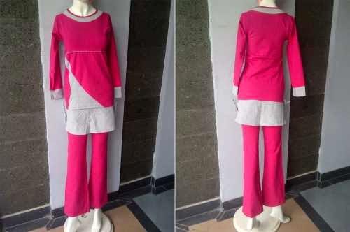 Contoh Model Baju Senam Muslim Terbaru