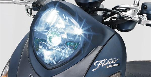 Yamaha Fino Grande dengan SSS, Headlamp LED dan Warna Doff