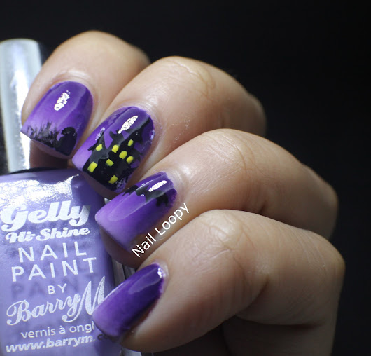 nail loopy: HAPPY HALLOWEEN