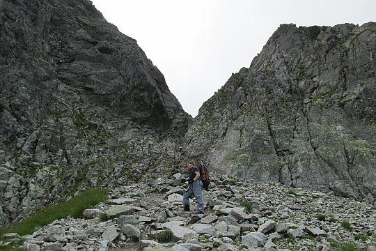 Pod Kozią Przełęczą.
